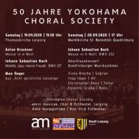 ENTFÄLLT!!! - 50 Jahre Yokohama Choral Society Gemeinschafts