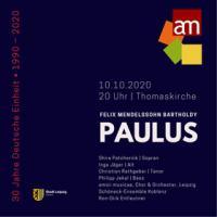 ENTFÄLLT!! - F. M. Bartholdy: Oratorium »Paulus«, op. 36