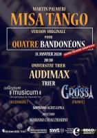 Misa Tango, Originalversion für vier Bandoneons, M. Palmeri