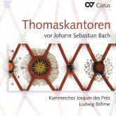 Thomaskantoren vor  Johann Sebastian Bach