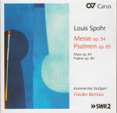 Louis Spohr: Messe op. 54, Psalmen op. 85
